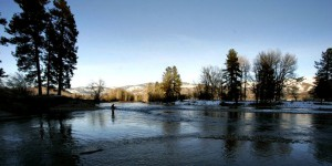 Fishing in the Methow River